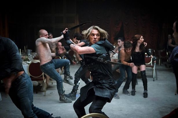 Jace-Jamie-Campbell-Bower-takes-on-the-Vampires-in-The-Mortal-Instruments-City-of-Bones