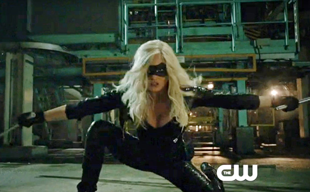 """Arrow -- """"Broken Dolls"""" -- Pictured: Caity Lotz as Canary (Screengrab)"""