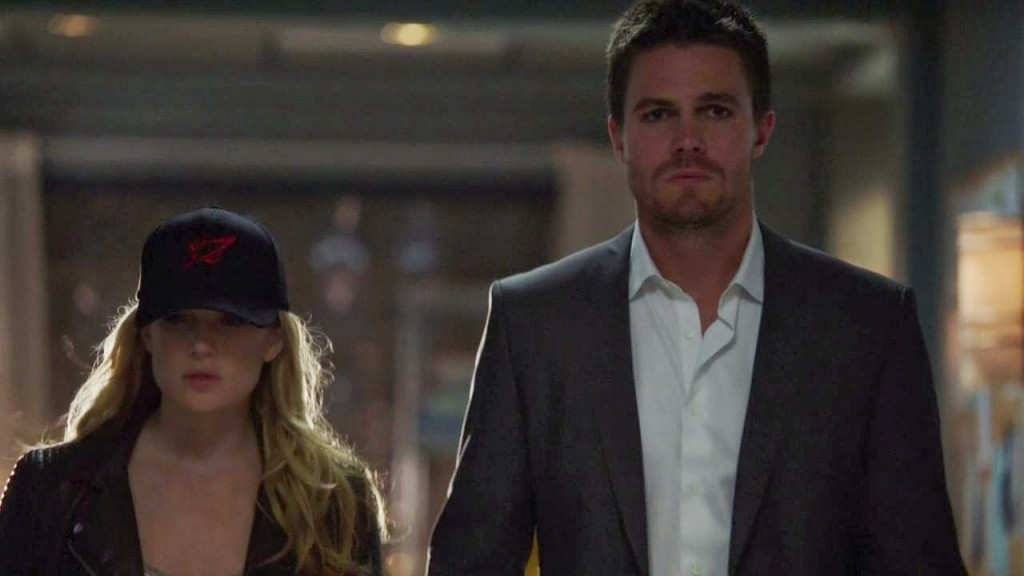 arrow 2x04 - crucible - oliver e sara