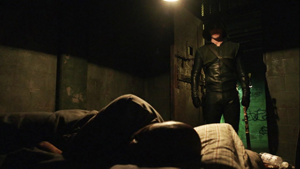 arrow-season-1-21-the-undertaking-the-hood-rescues-walter-stephen-amell-colin-salmon-review-episode-guide-list
