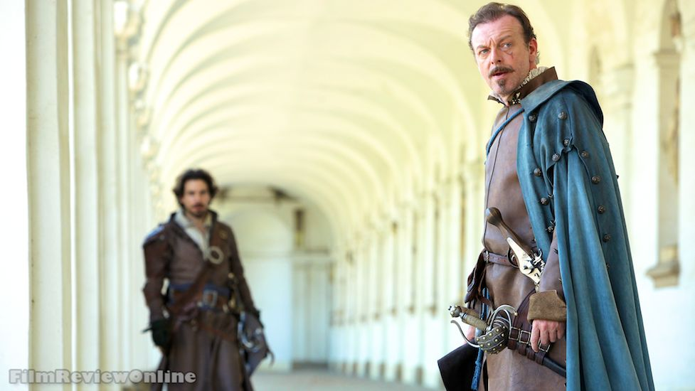 The Musketeers, 104 - Santiago Cabrera and Hugo Speer